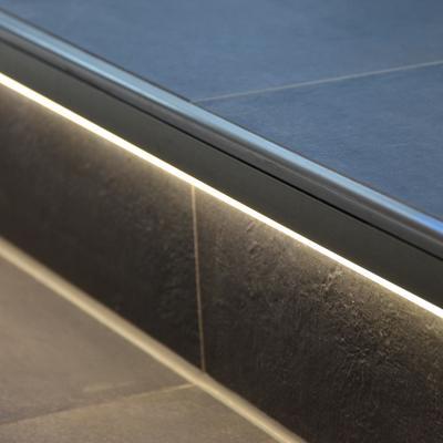 Treppe Gestaltung Lichtleiste