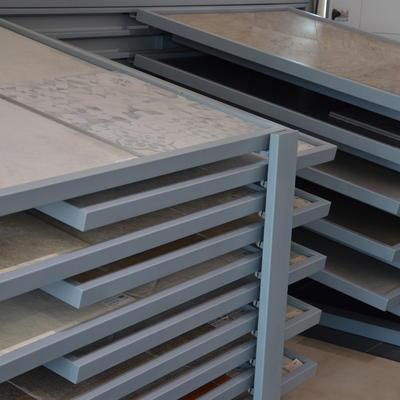 Ausstellungen Fliesen - Schubladen